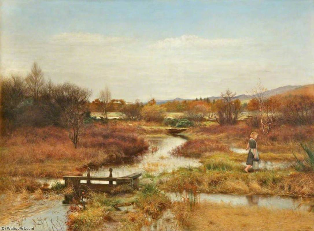 John-Everett-Millais-Lingering-Autumn